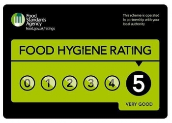 Environmental Health praises five star food hygiene stand...