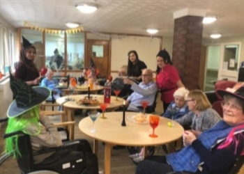 Bellavista Nursing Home Cardiff Residents enjoy a spookta...