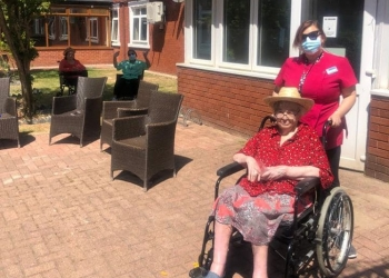 Sunshine and smiles at Bellavista Nursing Home Cardiff